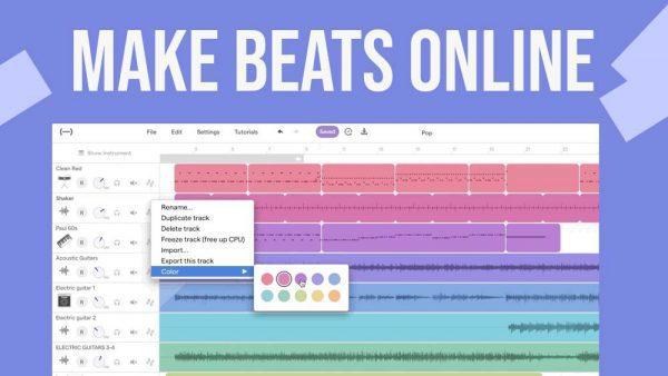 make a beat online, make beats online, online beat maker, beat maker