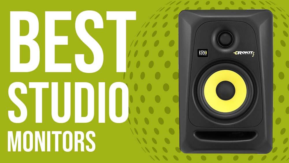 best studio monitors, best music studio speakers