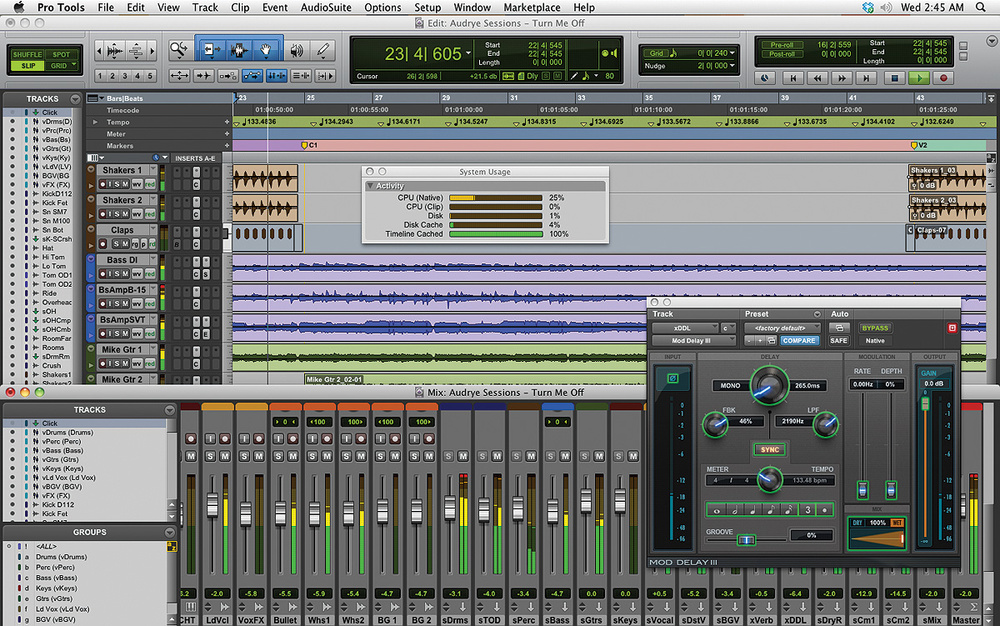 pro tools music production software, pro tools daw