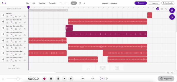 music production software, soundtrap